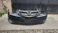 Бампер передний в сборе на Mazda MPV LW рестайлинг