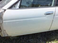 Дверь передняя левая белая Nissan Laurel GC35 RB25DET