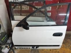 Дверь левая передняя Toyota Corona AT190