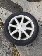 Колесо на литье Nissan с зимней резиной