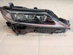 Фары LED Camry 70 3 линзы Lexus Style