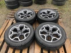 Продам комплект оригинальных колес на Subaru XV 225/55R17
