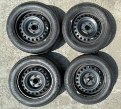 Продам комплект колёс Dunlop на штампованный дисках.