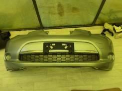 Бампер передний Nissan LEAF, AZE0 ZE0 с туманками