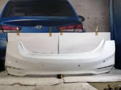Hyundai Solaris 2 2017-2020 бампер задний