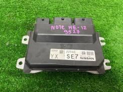 Блок управления efi Nissan Note 2017 [NEC003888] HE-12 HR12-EM57 NEC003888