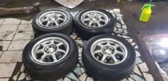 Красивые колеса Sein R15,5x100,6.5j, ET40 на резине 195/65/15 зима