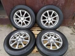 Комплект лета 185/70/14 Bridgestone EP150, литьё 4*100, 2020 г. в.