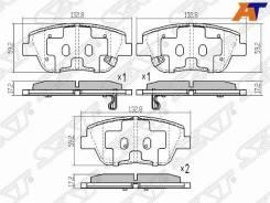 Колодки тормозные KIA Optima/Magentis 10- ST-58101-3QA50, передний ST581013QA50