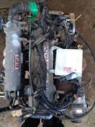 Контрактный двигатель в сборе с навесным Toyota 4S-FE + АКПП (80т. км)
