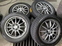Zack графит R16 5*100 6.5j et48 + 205/55R16 Bridgestone Blizzak Revo