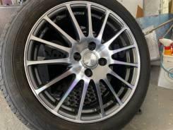 Eco Forme R16 4*100 6.5j et53 Japan + 195/55R16 Dunlop Winter Maxx WM