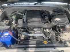 Двигатель Toyota Land Cruiser Prado KDJ95 1Kdftv 2001. На машине.