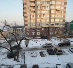 2-комнатная, улица Ленских рабочих 4. Администрация, агентство, 45,2кв.м. Вид из окна днём