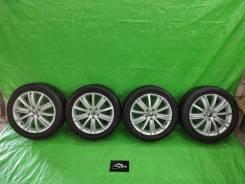 """Колеса диски VAG оригинал R18 + резина Bridgestone Potenza 225/50 R18. 7.0x18"""" ET43"""