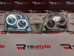 Фары Toyota Land Cruiser Prado 95 LED Светлые