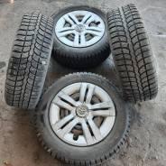 Колёса R15, 5/114.3, шины Kama Irbis 195/65 + Колпаки Toyota