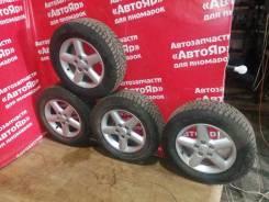 "Комплект колес 215 / 65 / R16 Bridgestone Blizzak Spike-02. 6.5x16"" 5x114.30 ET40 ЦО 66,1мм."