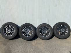 Комплект колёс б/у Dunlop SJ8 225/65R17 на дисках Weds Velva