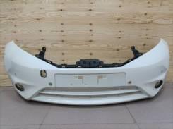 Бампер передний Nissan Note (E12) 2012-2016г. Оригинал Б/У белый
