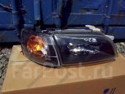 Фары Toyota Corona / Carina E / Caldina 92-95 ST19#, Хрусталь черные A