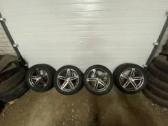 Комплект колес от Mersedes Benz с шинами Nokian Hakkapeliitta 9