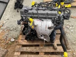 Двигатель. Nissan Presage NU30 KA24DE 4WD.