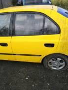 Дверь задняя левая Hyundai Accent II 2000-2012