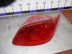 Фонарь Peugeot 307 2007 [6351X0], правый задний 6351X0