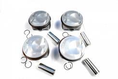 Поршни c кольцами и пальцем (комплект) +0,50 (R2) Hyundai G4KHB 2,0T [234102G401P] 234102G401P