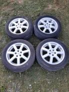 Комплект колёс. Pirelli Winter Ice Storm, диски Enkei. + 2 покрышки