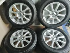 Отличный комплект литья с зимними шинами 225/65R17 Япония (№93)