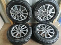 Отличный комплект литья с зимними шинами 145/80R13 Япония (№90)