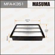 Фильтр воздушный Masuma, арт. MFA-K351 MFAK351