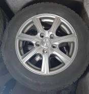 Комплект колес с литьём PRD R15 и резиной Dunlop Winter Maxx 185/65R15