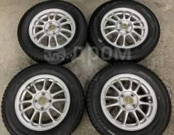 Легкие A-Tech Final Mind R14 4*100 4.5j + 155/65R14 Dunlop DSX-2 japan