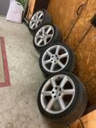 Колеса 4 шт в сборе стояли на ниве 2121 на проставках колеса Nissan