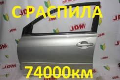 Дверь Toyota Avensis AZT251 2Azfse 2005 [передняя левая]