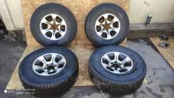 """Зимние шины с дисками Nissan 265/70/15. x15"""" 6x139.70"""