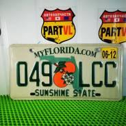Американские автомобильные номера Florida