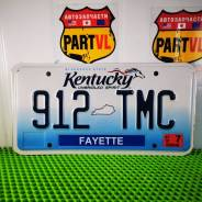 Американские автомобильные номера Kentucky