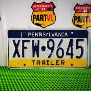 Американские автомобильные номера Pennsylvania