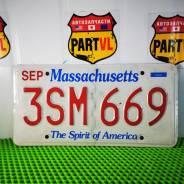 Американские автомобильные номера Massachusetts