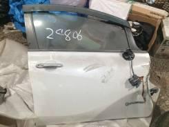Дверь Nissan Note HE12 - Правая Передняя. Цвет Белый
