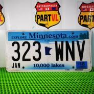 Американские автомобильные номера Minnesota