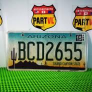 Американские автомобильные номера Arizona