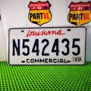 Американские автомобильные номера штат Louisiana