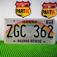 Американские автомобильные номера штат Hawaii Aloha state