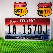 Американские автомобильные номера штат Idaho