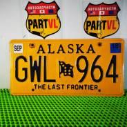 Американские автомобильные номера штат Alaska